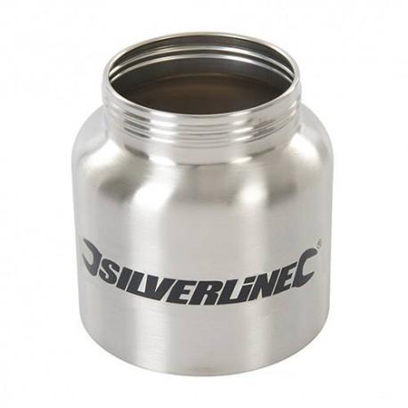 Réservoir en métal 800 ml pour pulvérisateur de peinture HVLP - 269682 - Silverline