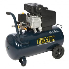 Compresseur d'air 2 Cv, 50 L GAC1500 GMC - 270120