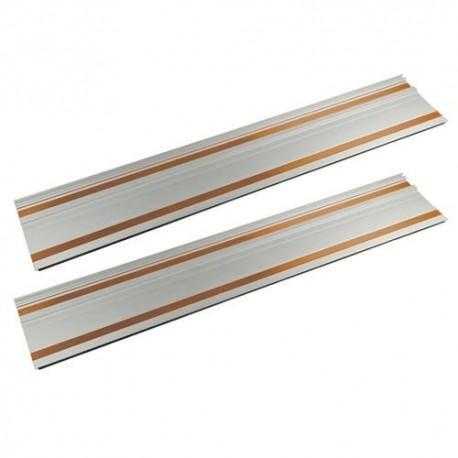 2 rails 700 mm et d'embouts d'assemblage pour scie plongeante Triton TTS1400 - 270327 - Triton