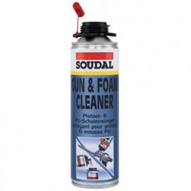 Cartouche de nettoyant mousse PU DIY - 106236 - Soudal