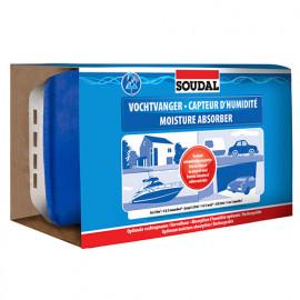 Capteur d'humidité 1Kg (boite + recharge) - 125941 - Soudal