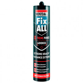 Mastic colle Fix All 290 ML X-treme power Blanc - 127024 - Soudal