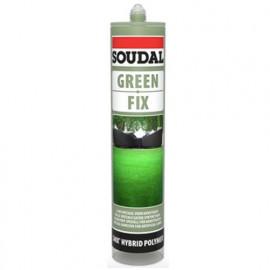 Mastic colle spécial Gazon synthetique 290 ML Green fix - 132197 - Soudal