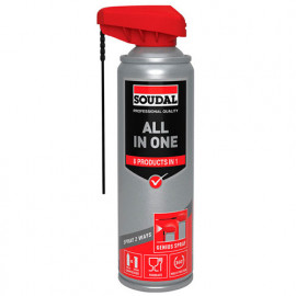 Bombe en spray 300 ML ALL IN ONE 8 fonctions - 134621 - Soudal