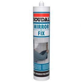 Mastic colle spécial miroir 290 ML mirror fix Blanc - 132437 - Soudal