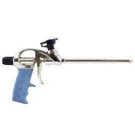 Pistolet pour mousse PU en metal click & fix DESIGN - 106016 - Soudal