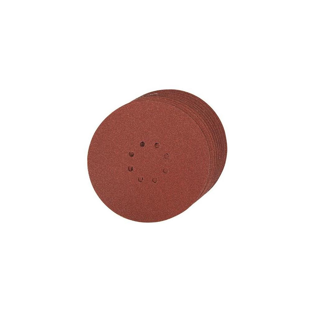 0-hole papier abrasif vert 10/x 125/mm 12,7/cm /Maso 10/pcs 125/mm Vert deau papier abrasif de broyage Disques abrasifs/ 3000/Grain 40 ponceuses et meuleuses boucle de crochet