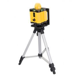 Coffret niveau laser rotatif avec point jusqu'à 30 m - 273233 - Silverline