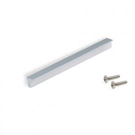 Poignée pour meubles Dublin en aluminium finition anodisée mate avec entraxe 160 mm - 9303362 - Emuca