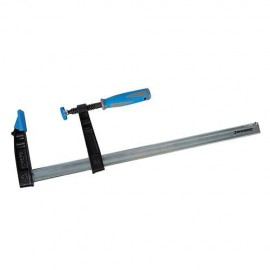 Serre-joint à visser usage intensif L. 200 x 100 mm - 282369 - Silverline