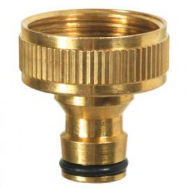"Nez de robinet laiton fileté F 1"" - PRA/RLB.4206 - Ribiland"