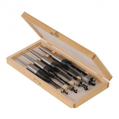 Coffret de 4 mèches bédanes D 6,10,13 et 16mm - 282394 - Silverline
