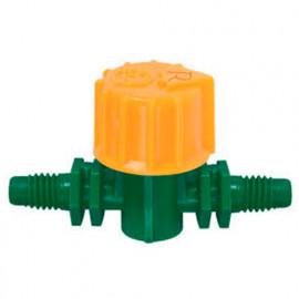 Vanne arrêt cannelée D. 6 mm (3 pces) - PRA/MIB.0055 - Ribiland