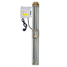 Pompe immergée inox 750 W, 67 m avec tableau électrique - PRPGP750/67 - Ribiland