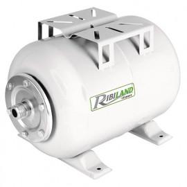 Réservoir 24 L horizontal pour suppresseur à eau - PRS24/P - Ribiland