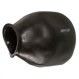 Vessie membrane pour suppresseur 500/750 L D. entrée 150 mm 2 trous - PRVESS500/750 - Ribiland