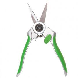 Sécateur Donna7 lames inox droites, 180 mm, vert - PRSMD07V6 - Ribiland
