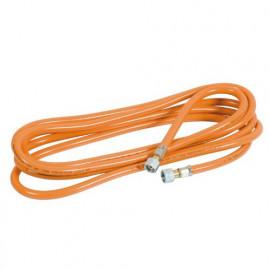 Tuyau gaz 5 m + raccords 4 x 11 DK6 pour désherbeur thermique - PROX441601 - Ribiland