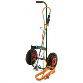 Kit désherbeur thermique avec chariot roues gonflables - PROXKIT1 - Ribiland