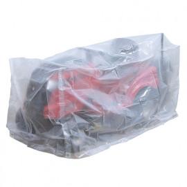 Housse pour tondeuse ECO platinium 90gr/m2, 250 x 110 x Ht. 110 cm avec bac - PRH090251X110 - Ribiland