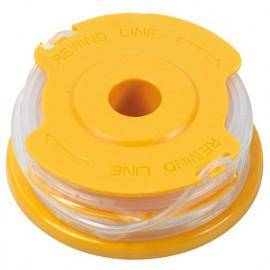 2 Bobines de fil pour coupe-bordures 1,6 mm x 2 x 4 m - PRWF550/T - Ribiland
