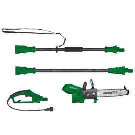 Tronçonneuse élagueuse électrique 300 mm 2 en 1 avec 2 rallonges - 900 W 230 V - PRTRE300R - Ribiland