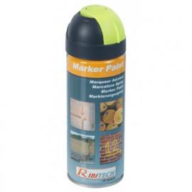 Marqueur jaune fluo en spray 400 ml - PRSMARJ - Ribiland