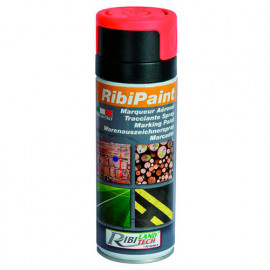 Marqueur rouge fluo en spray 400 ml - PRSMARR - Ribiland