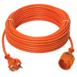 Prolongateur électrique jardin 40 m de câble HO5VV-F 2 x 1,5 mm2 - PREPJ40215R - Ribiland
