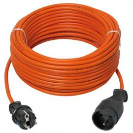 Prolongateur électrique jardin 40 m de câble HO5VV-F 3 x 1,5 mm2 - PREPJ40315R - Ribiland