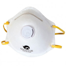 Lot de 3 masques anti-poussières avec valve FFP2 EN 149 - PRPROTMP2/3 - Ribiland