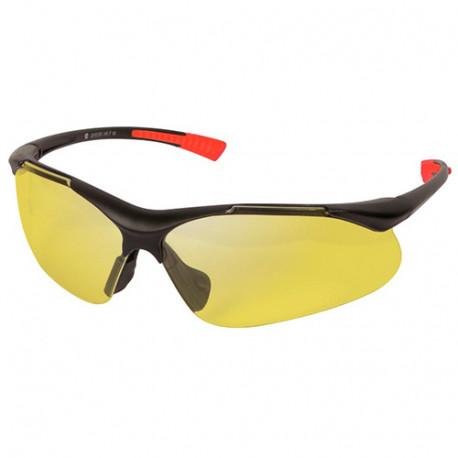Lunettes de protection jaunes EN 166 - EN 170 - PRPROTLM/2J - Ribiland