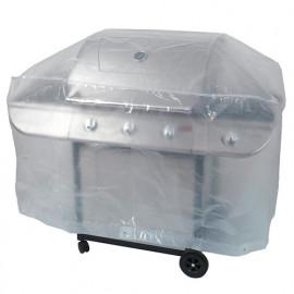 Housse ECO platinium 90 gr/m2 130 x 70 x Ht. 80 cm pour barbecue - PRH090130X70 - Ribiland