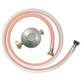 Kit gaz détendeur butane + tuyau 1,50 m 10 ans à visser - DG170TV810/B - Ribiland