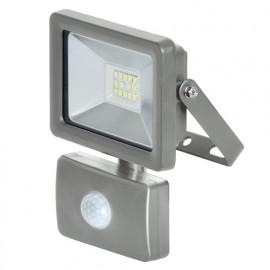 Projecteur à LED 10 W 230 V 750 lumens mural avec détecteur - PRSPOT12MDET - Ribiland