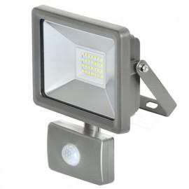 Projecteur à LED 20 W 230 V 1 500 lumens mural avec détecteur - PRSPOT22MDET - Ribiland