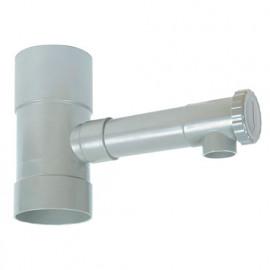 Récupérateur eau de gouttière D. 80 mm - PRRE080 - Ribiland