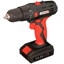 Perceuse-visseuse batterie lithium 14,4 V 1,3 Ah - 26 Nm, 1 batterie + accessoires en mallette - PRLPV144 - Ribitech
