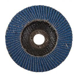 Disque à lamelles en zirconium D. 125 mm Grain 40 - 282588 - Silverline