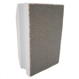 Cale à poncer manuelle diamantée SCRATCHER Grain 600 - L. 90 x 55 mm - Granit, Marbre, Grès cérame, verre - fixtout Platinum