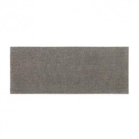 10 feuilles abrasives treillis auto-agrippantes 115 x 280 mm Grains assortis :4 x 40, 80, et 2 x 120 - 290956 - Silverline