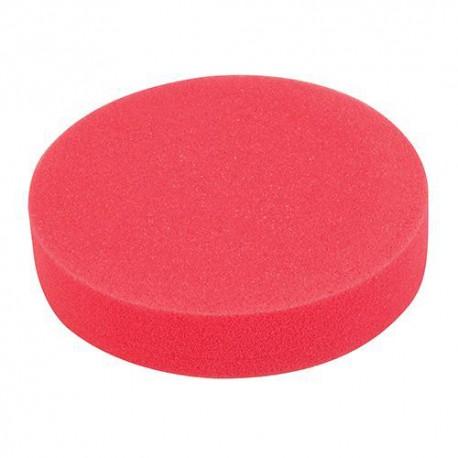 Éponge de polissage rouge D 180 x 38 mm auto-agrippante très tendre - 295539 - Silverline