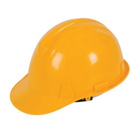 Casque de chantier Jaune - 306429 - Silverline