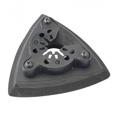 Patin de ponçage triangulaire 93 mm pour otuil oscillant - 309049 - Silverline