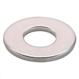 10 Rondelles M10 D. int 10,5 x D. ext 30 x Ep. 2,5 mm. plates inox A2 DIN 9021 - Fixtout