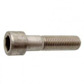 10 Vis à métaux M 6 x l. 25 mm à tête cylindrique six pans creux CHC BTR INOX A2 - Fixtout