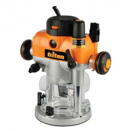 Défonceuse électrique PRO Triton bi-mode 2400 W, queue de 12 mm - 330165 - Triton