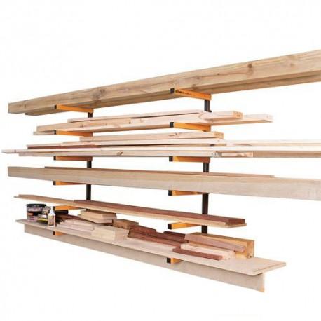 Rayonnage cantilever échelles de stockage d'atelier - 330190 - Triton