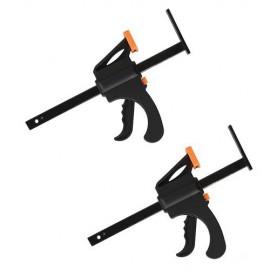 2 serre-joints L. 320 mm pour rail de scie circulaire Triton TTS1400 - 332891 - Triton