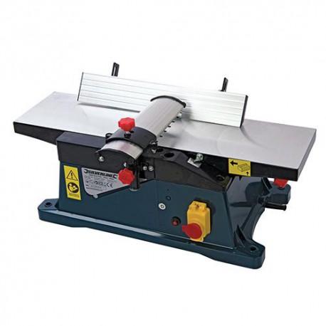 Dégauchisseuse d'établi 150 mm électrique 1 800 W Silverline - 344944 - Silverline
